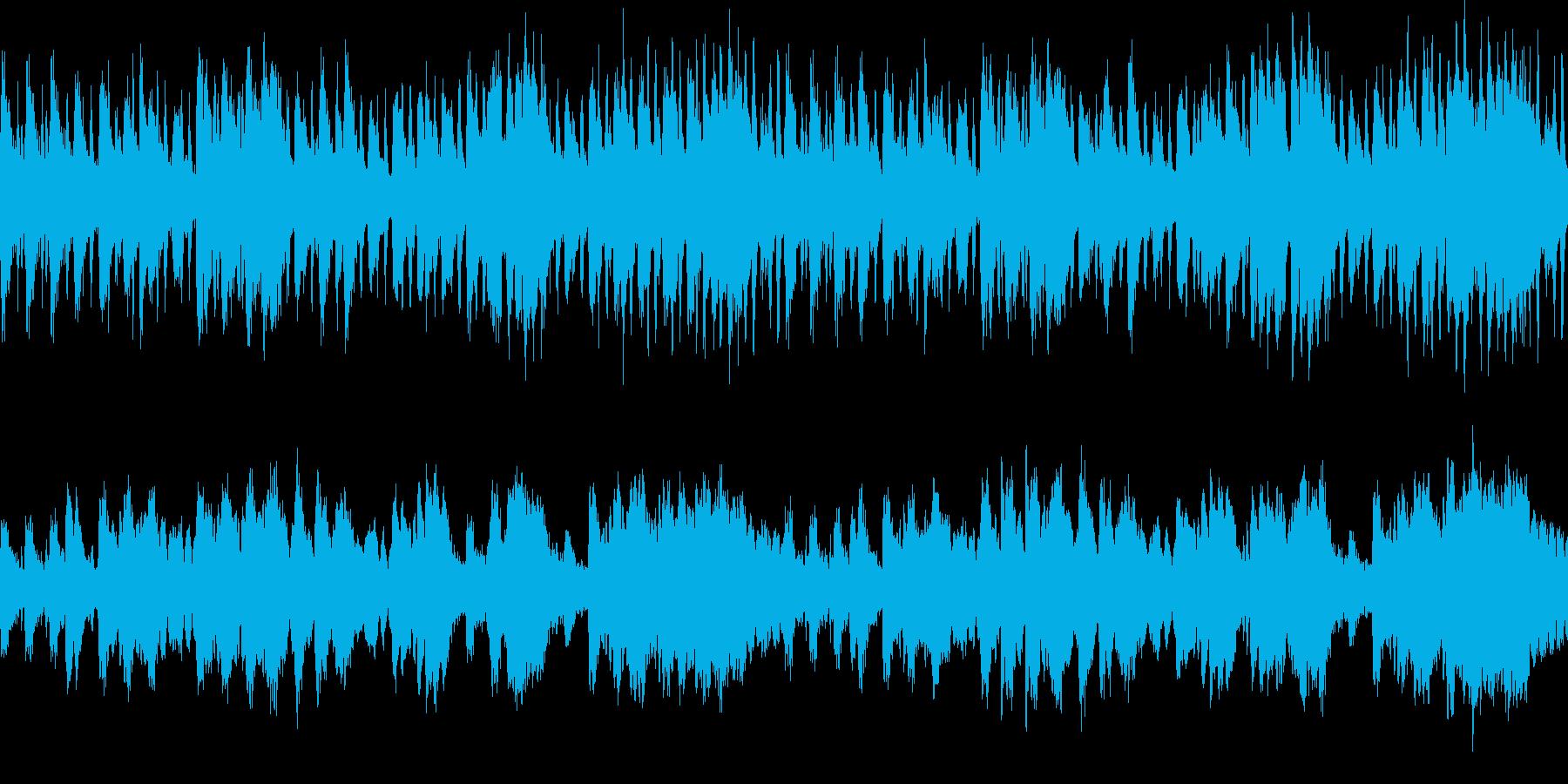 調律の狂ったピアノのワルツ・ホラーの再生済みの波形