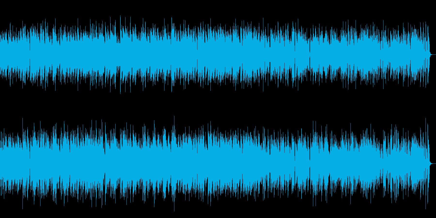 楽しい時間のスイングジャズの再生済みの波形