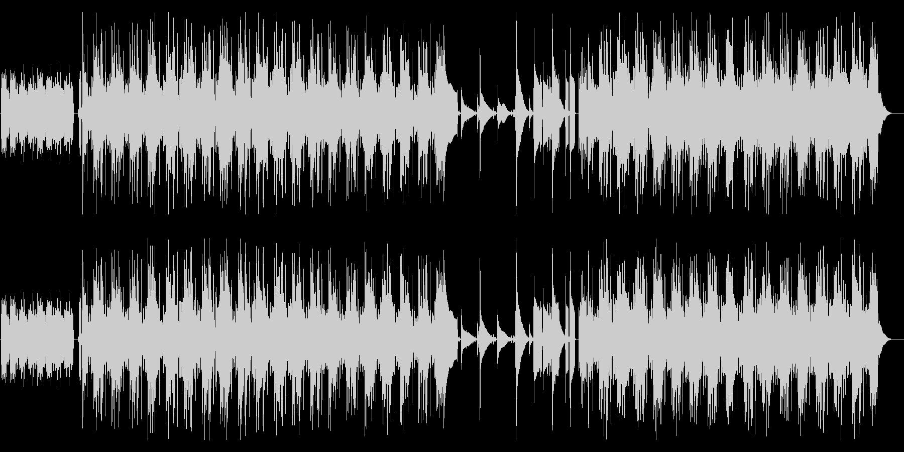 [ポストロック]まったり のどか ギターの未再生の波形