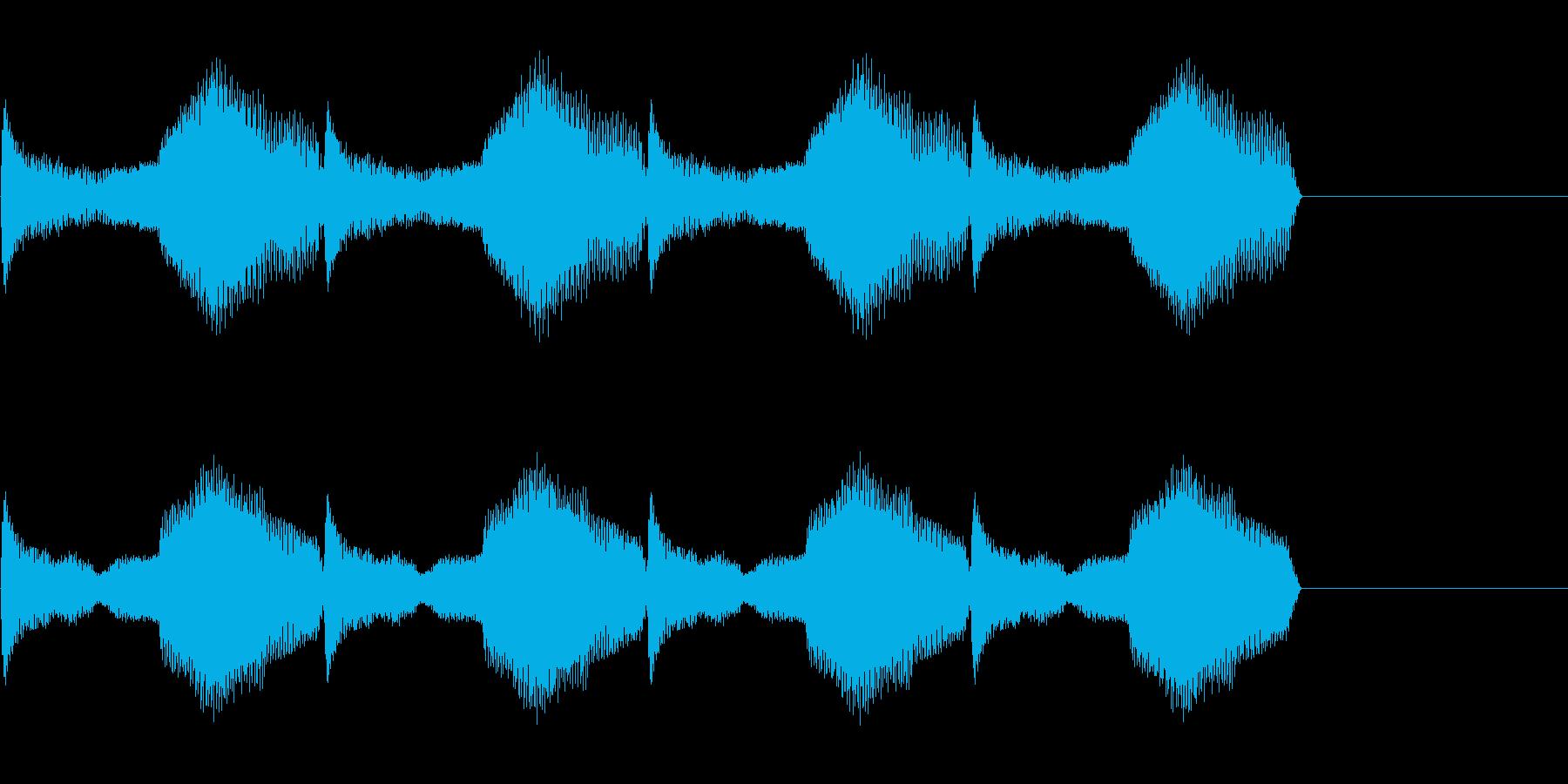 警報音 2の再生済みの波形