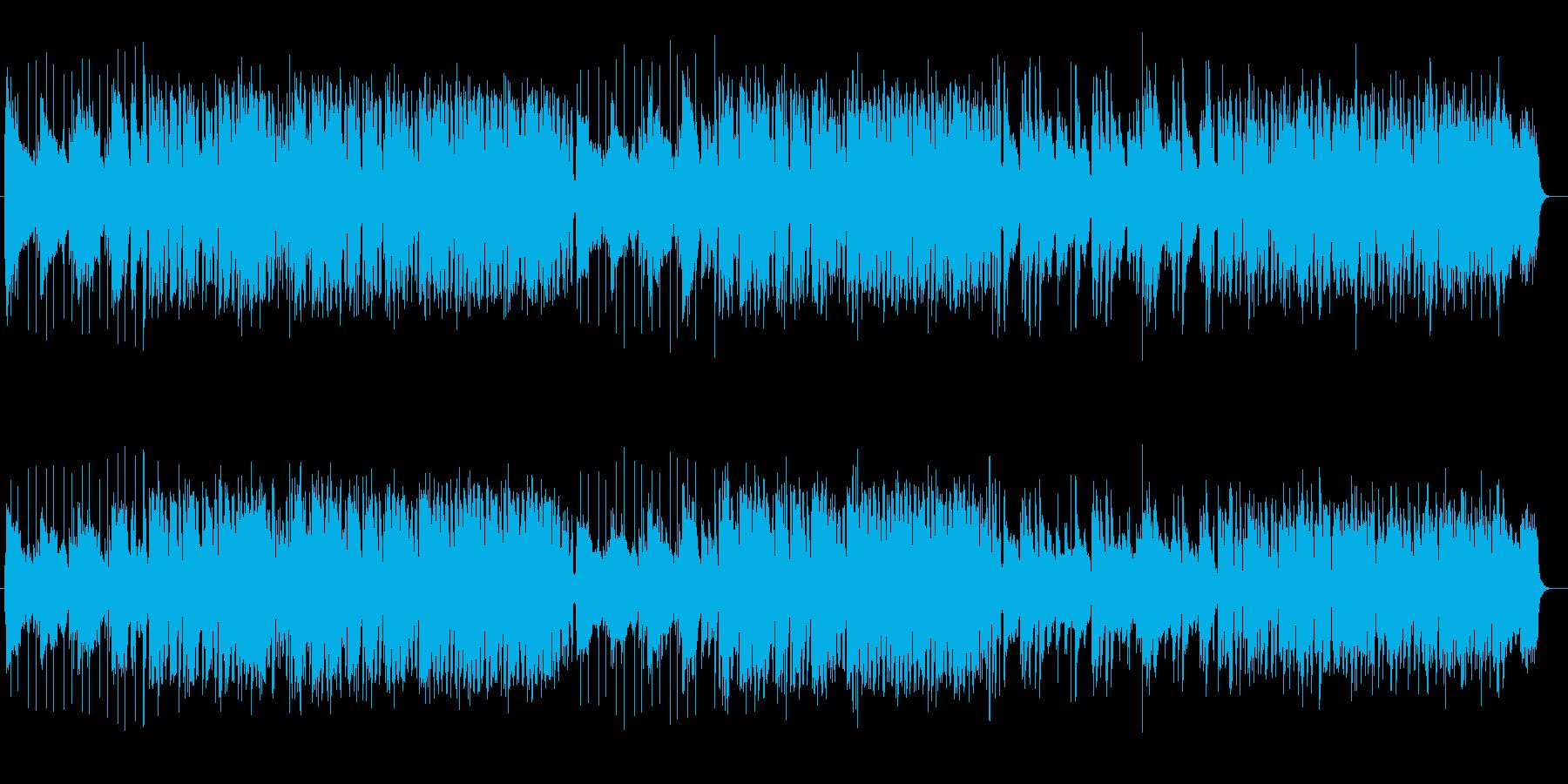 楽しい気分になるほのぼのミュージックの再生済みの波形