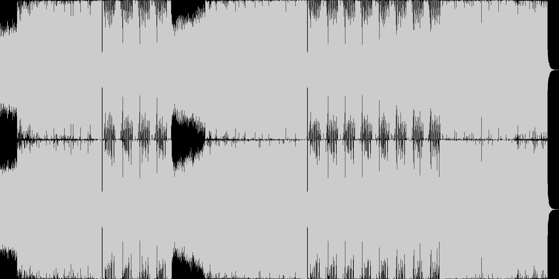 ウォブルベースEDMの未再生の波形