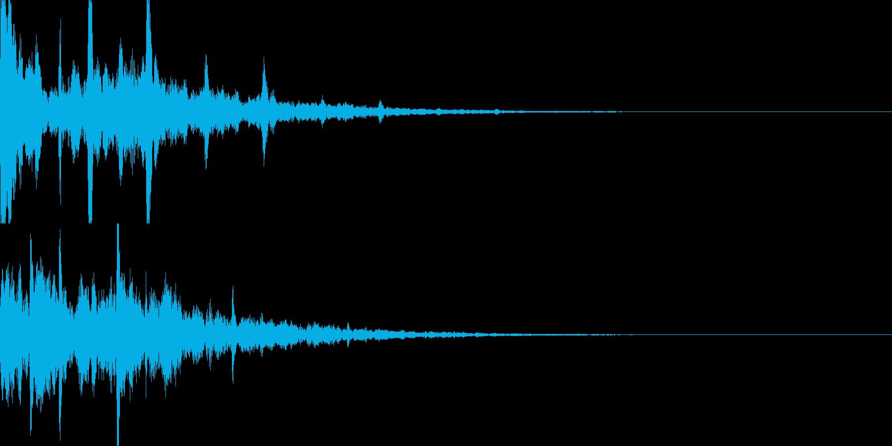 サウンドロゴ30_シンセCGの再生済みの波形