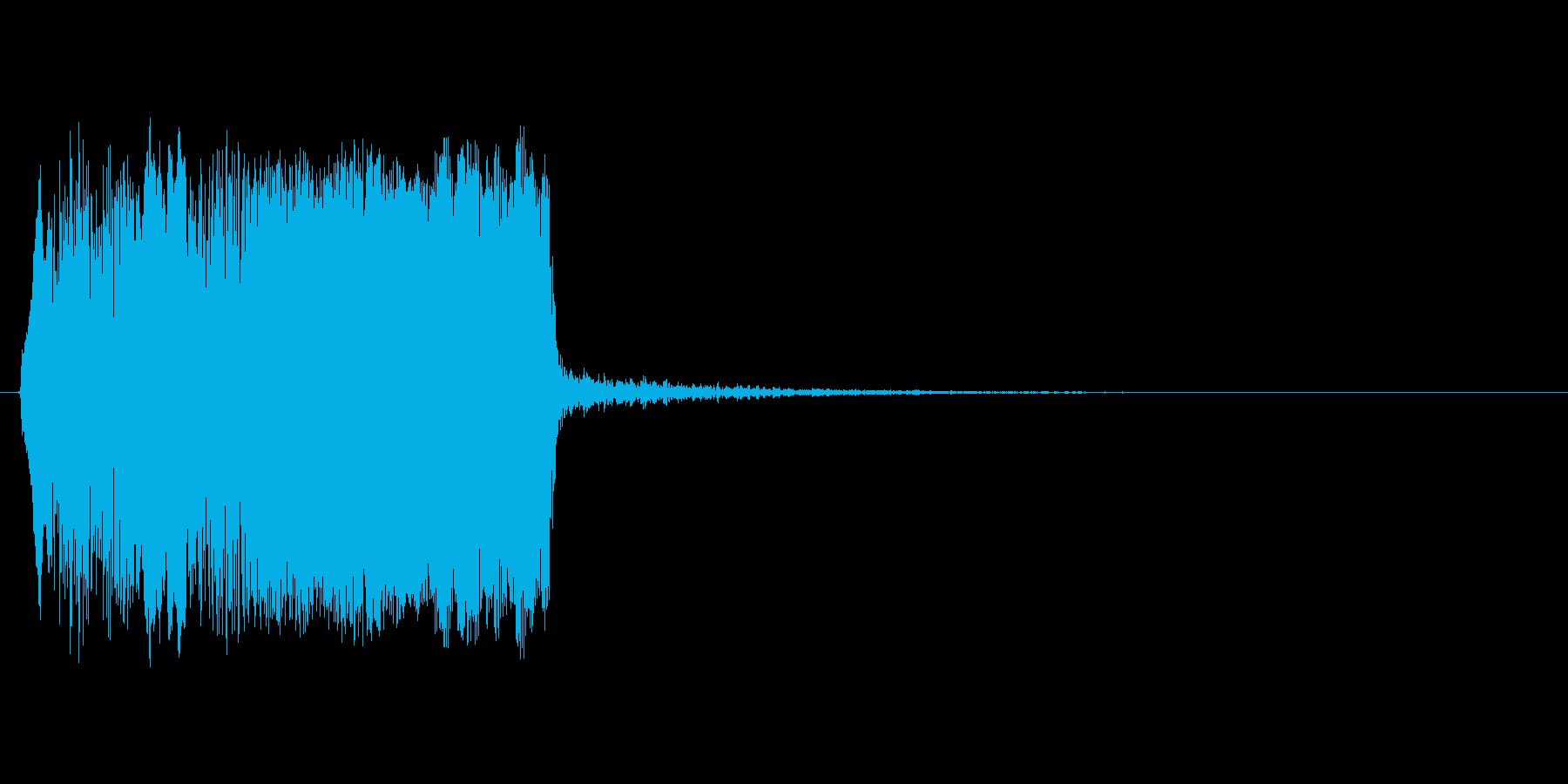 【叫び】ぎゃあああああああ!の再生済みの波形