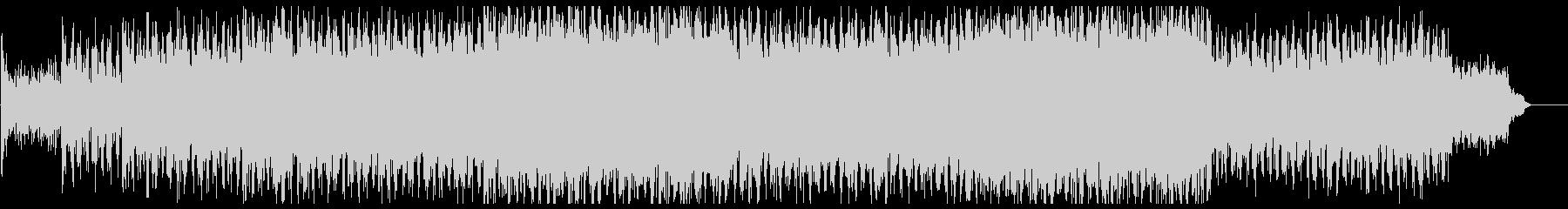明るく朗らかなテクノビートポップサウンドの未再生の波形
