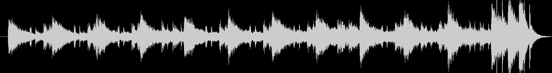 ・都会的なジャズの曲です・エレキギター…の未再生の波形