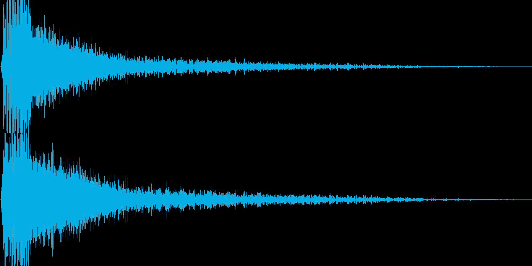 ビーム砲(エネルギーがほとばしる)の再生済みの波形