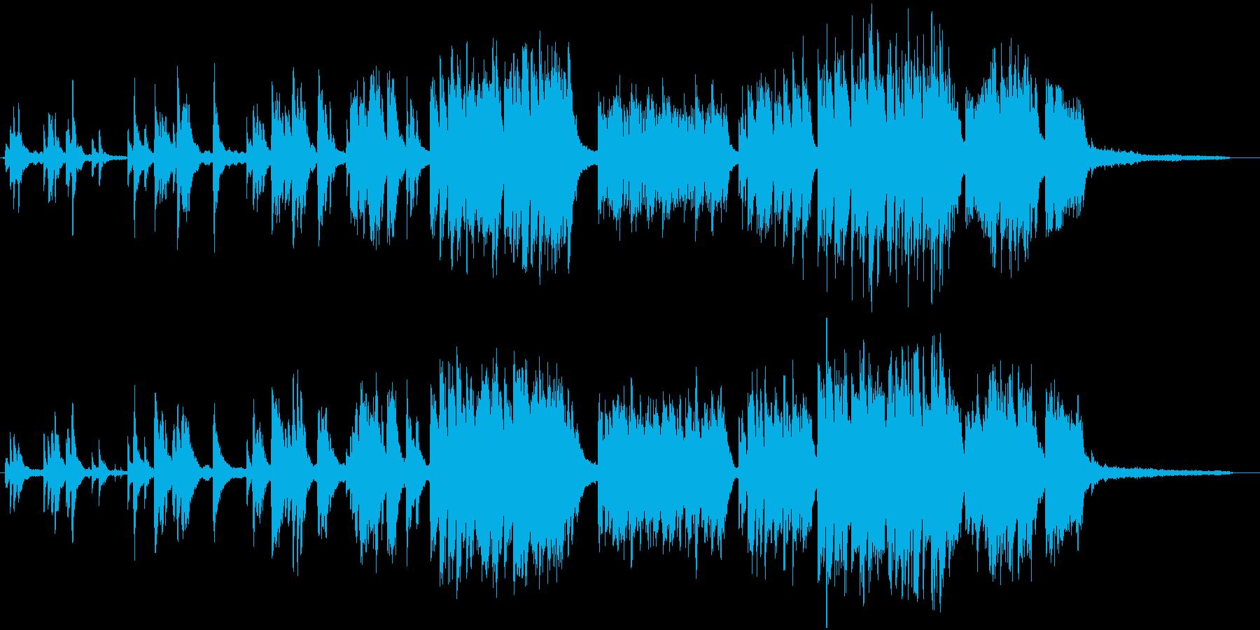 ピアノメインのゆったりとした曲です。久…の再生済みの波形