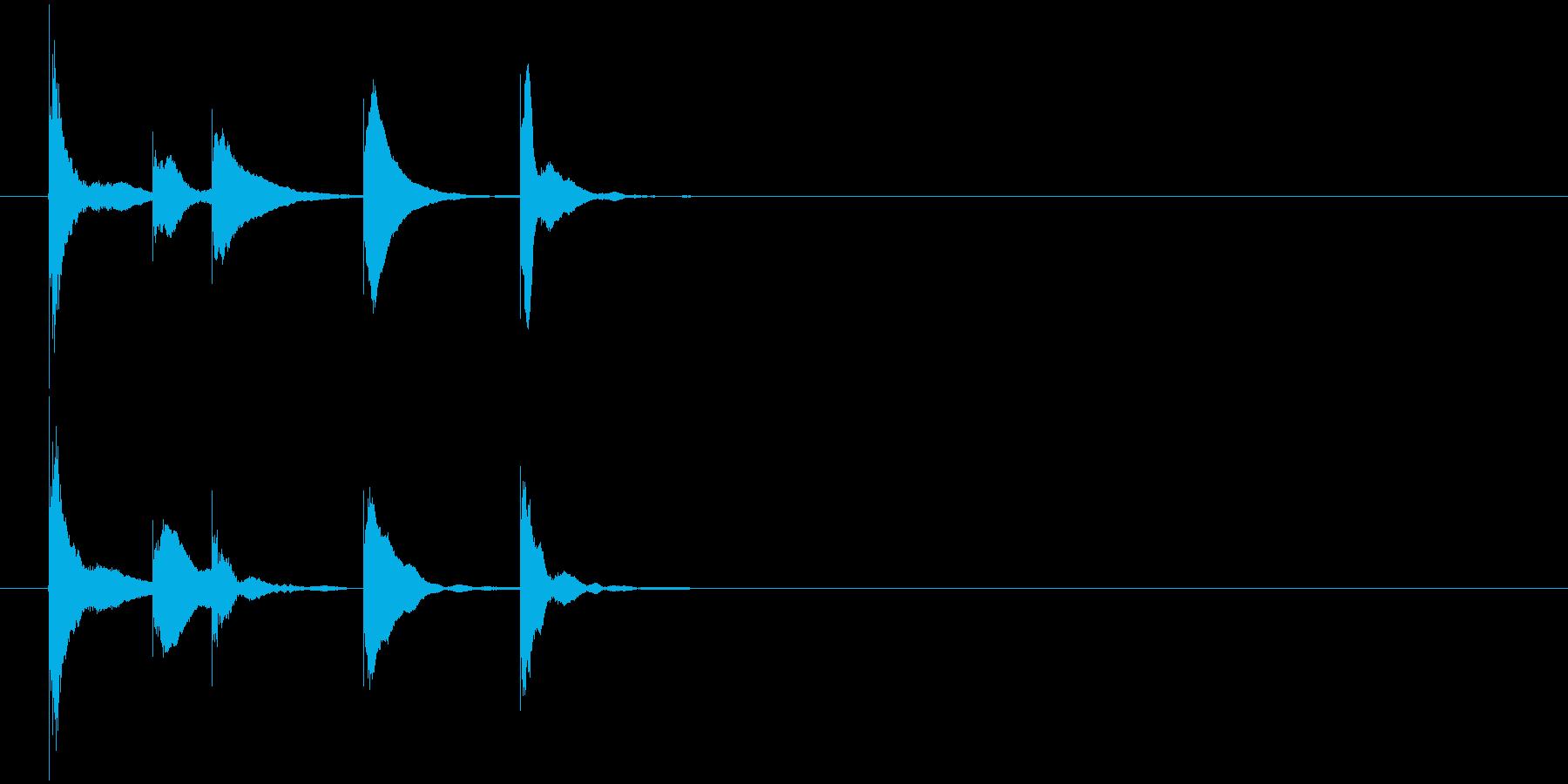 ゲームクリア の再生済みの波形