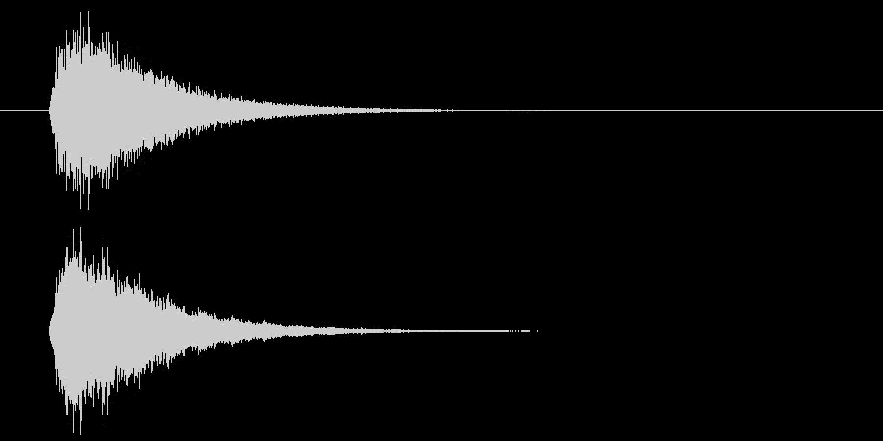 キラーン(華やかな音・余韻長い) 01の未再生の波形