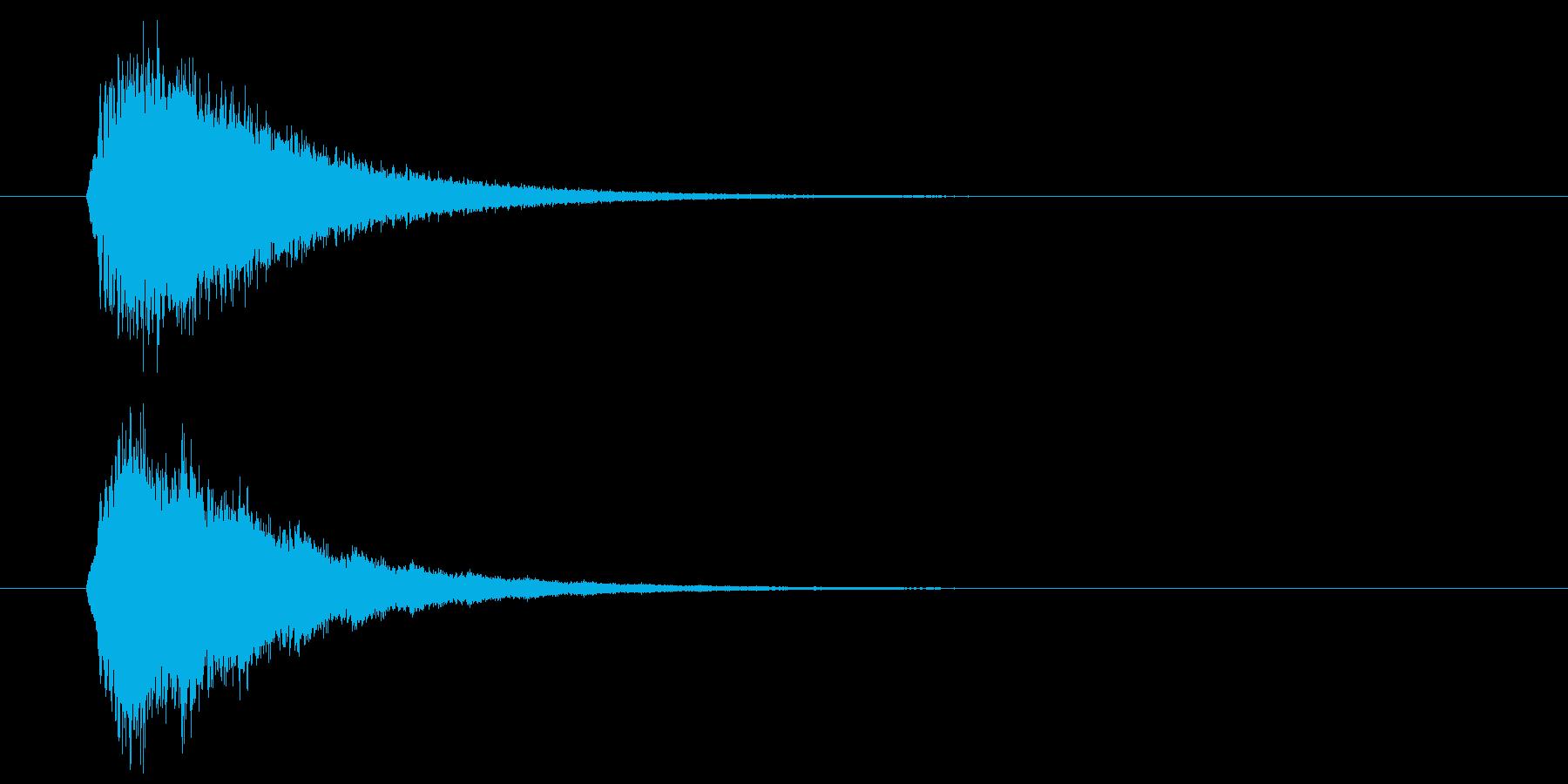 キラーン(華やかな音・余韻長い) 01の再生済みの波形
