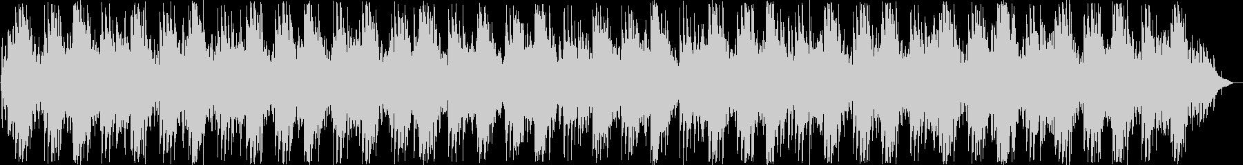 美しいシンセ・ピアノサウンドの未再生の波形