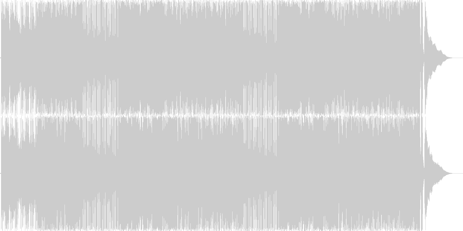 軽快ハッピーなアコースティック・ポップの未再生の波形