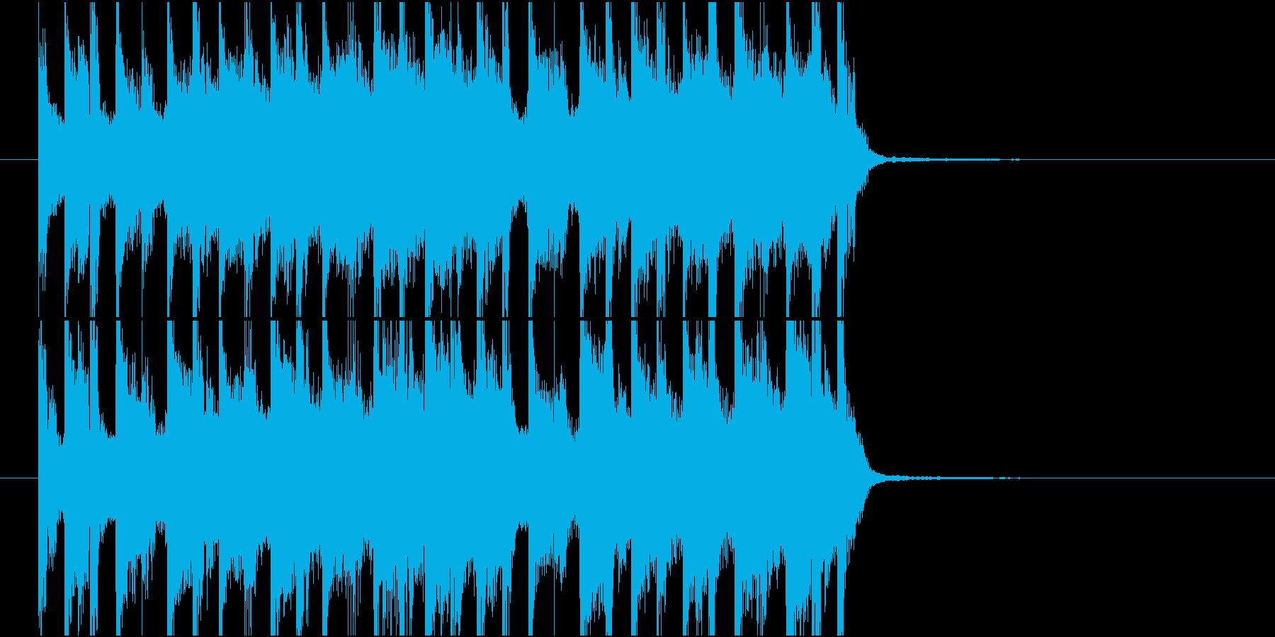 ジングル(ポップ10)の再生済みの波形