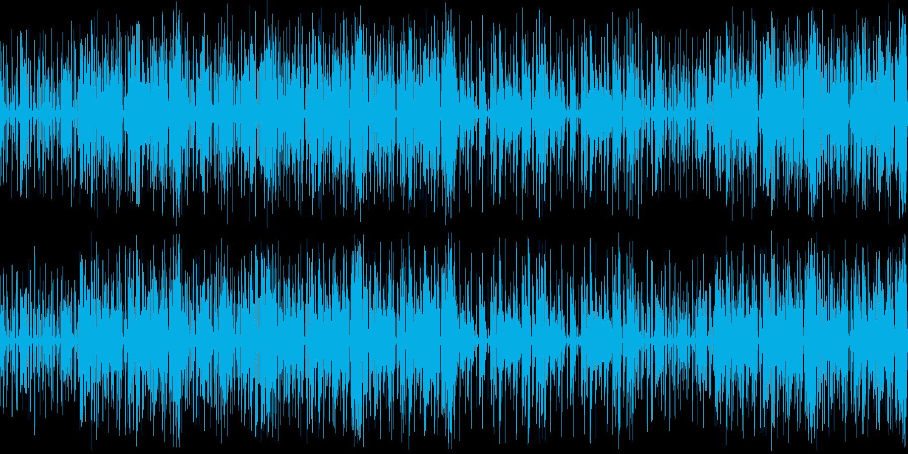 何か楽し気なループの再生済みの波形