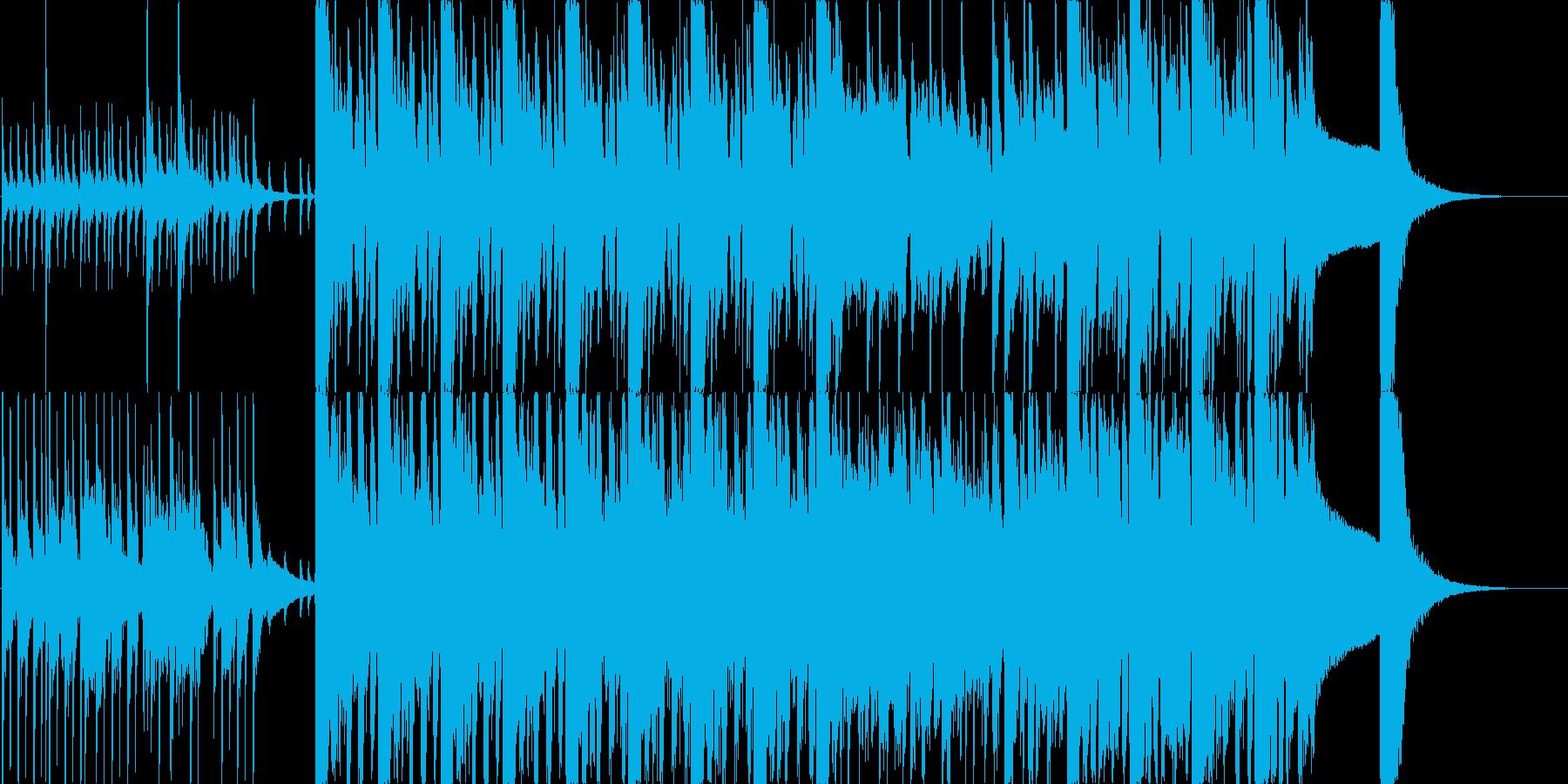 【ビックバンド】疾走感溢れるビックバンドの再生済みの波形
