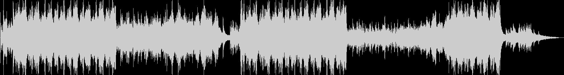 ピアノオーケストラで企業VP映像OPにの未再生の波形