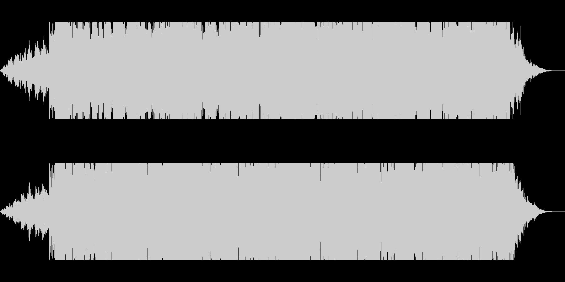 明るめEDMの未再生の波形