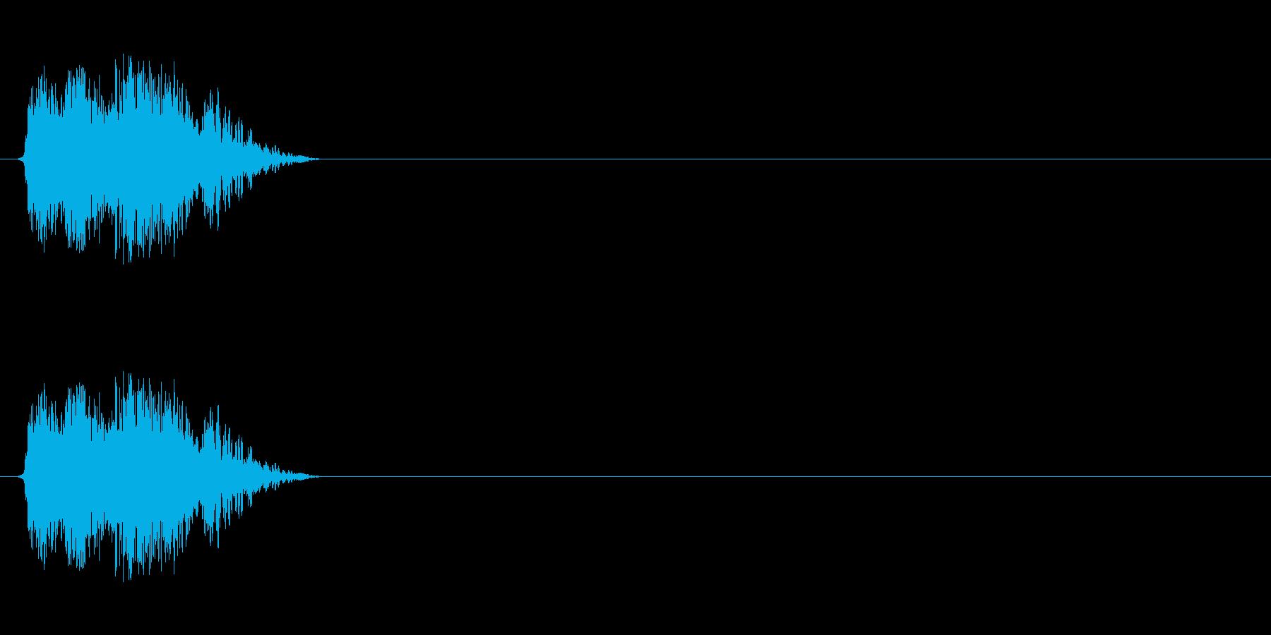 【斬る01-3】の再生済みの波形