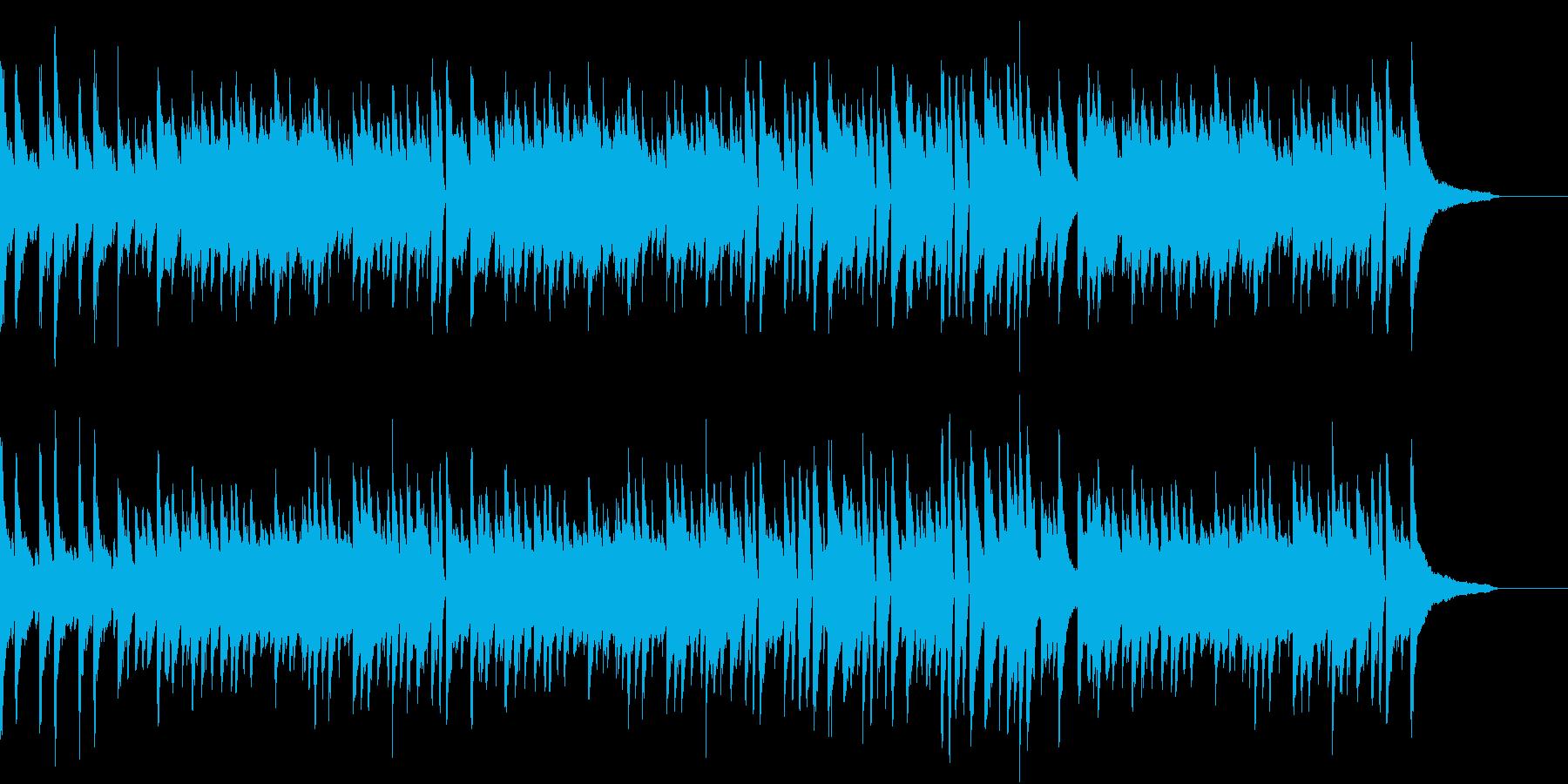 【ピアノのみ】ポジティブで爽やかなピアノの再生済みの波形