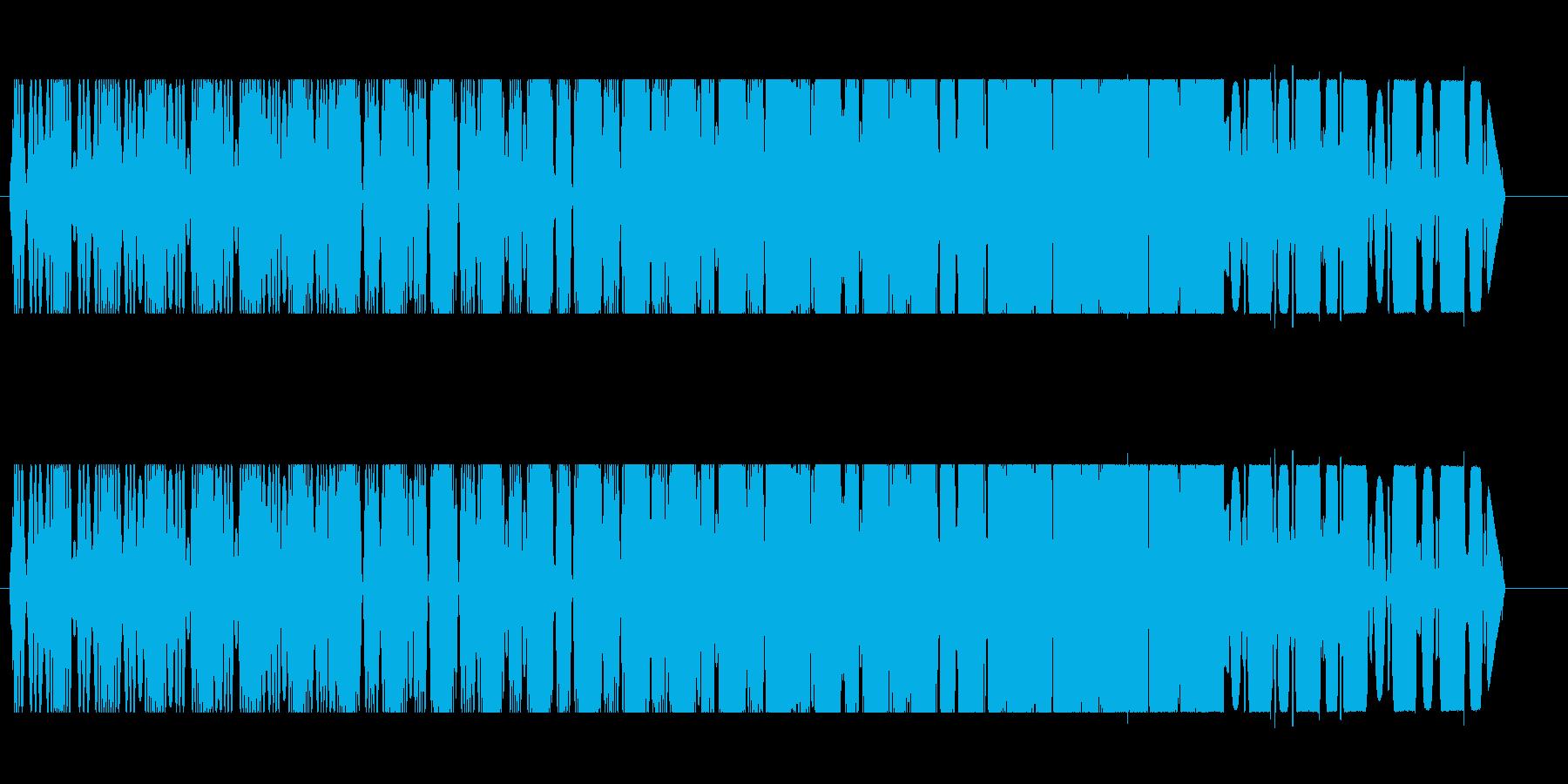 プルルル↑(コミカルな飛行音)の再生済みの波形