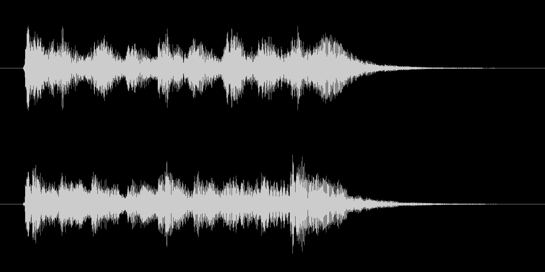 オープニング用ジングル115/ショートの未再生の波形