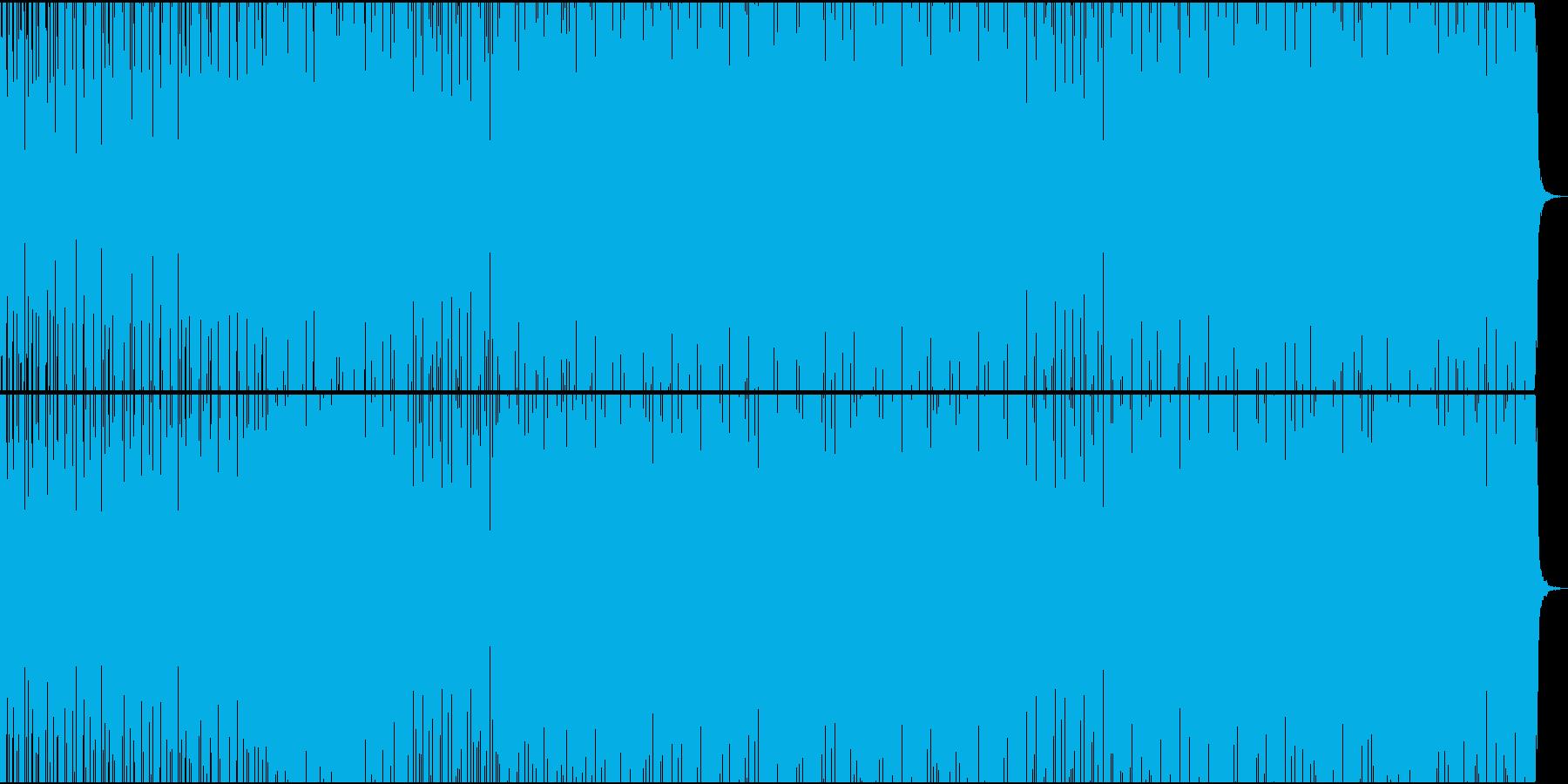 フィットネス・緊張感・ステディ・ギターの再生済みの波形