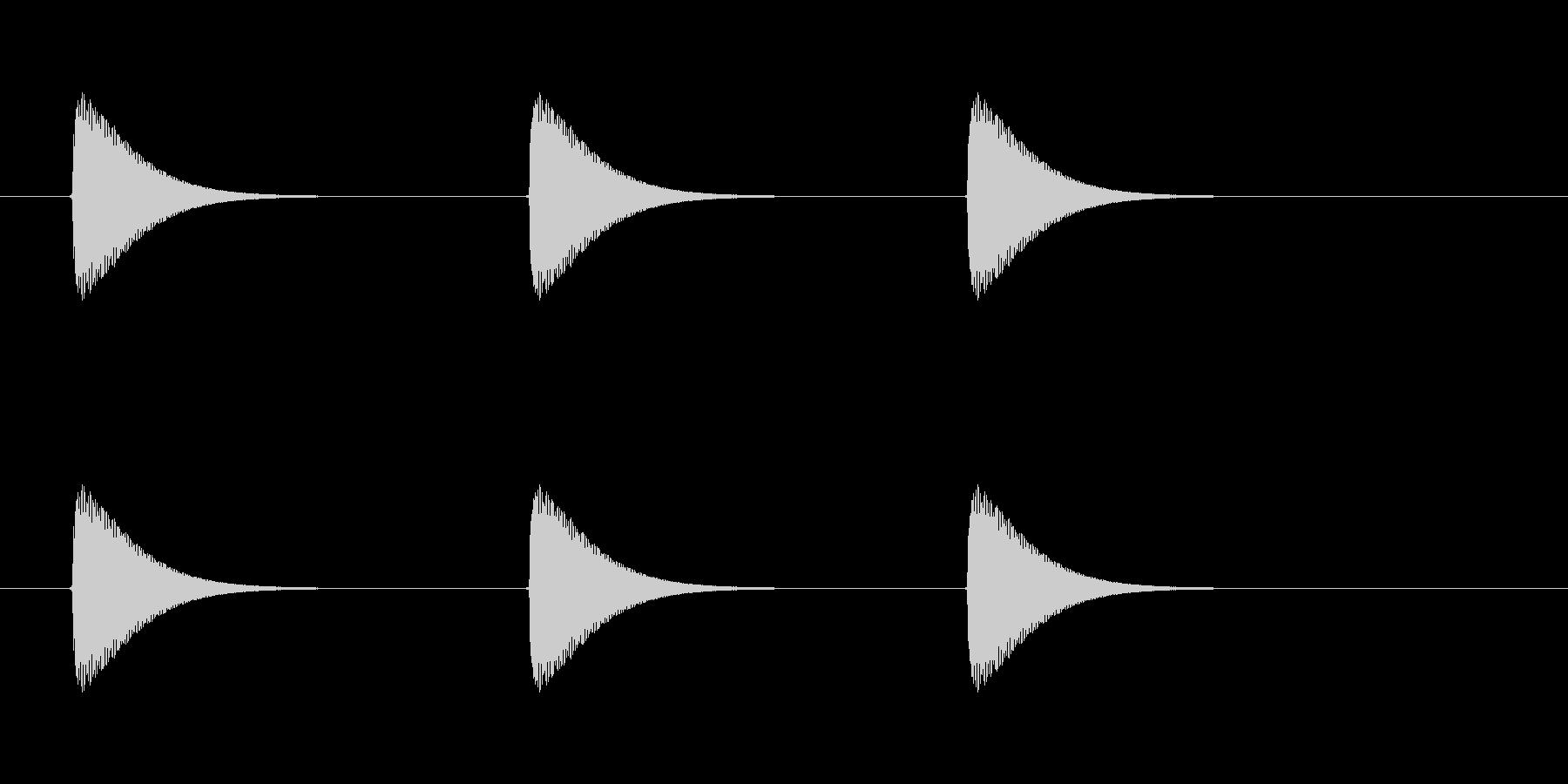 【ショートブリッジ13-3】の未再生の波形