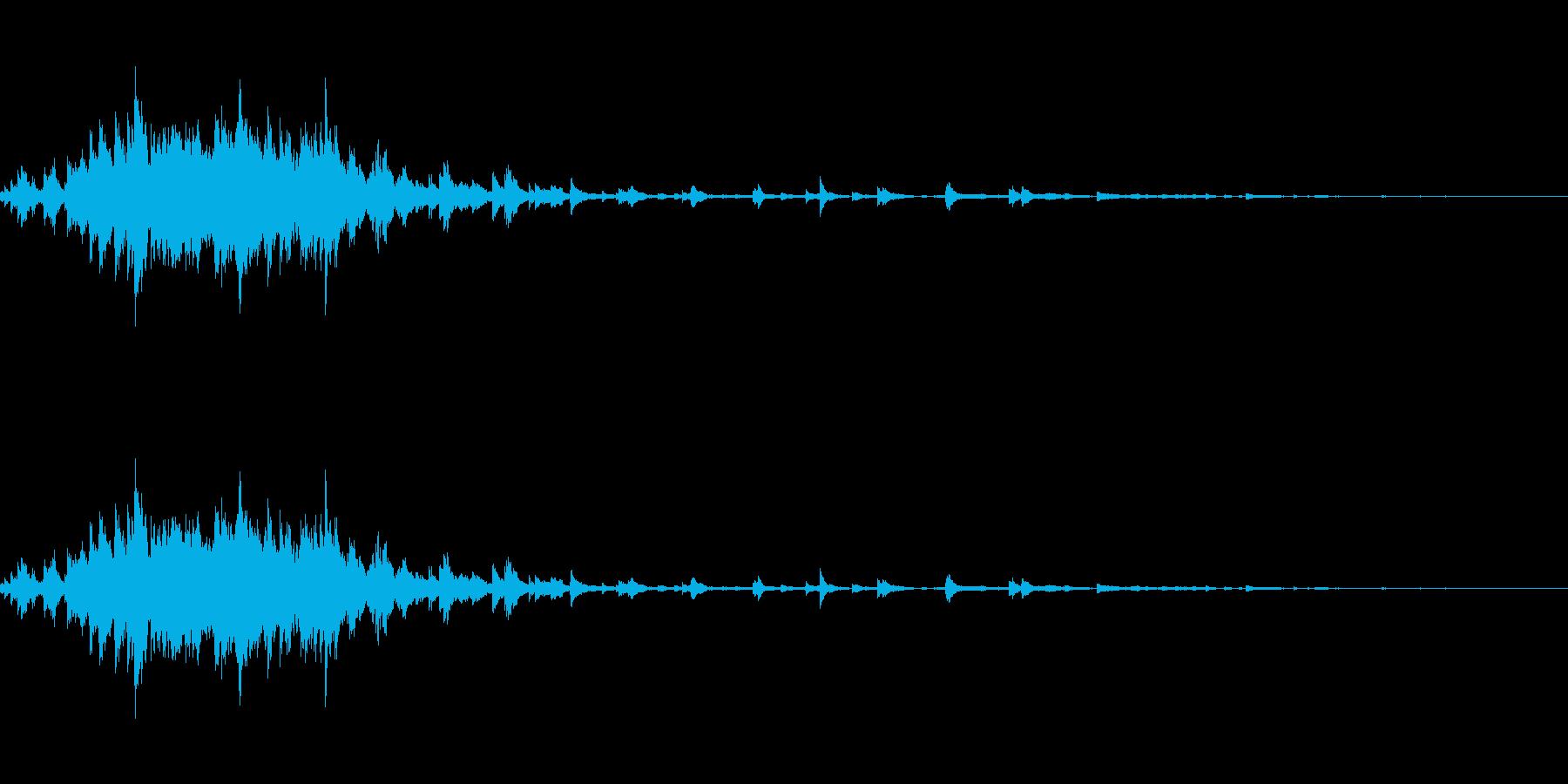 ウィンドチャイム。の再生済みの波形
