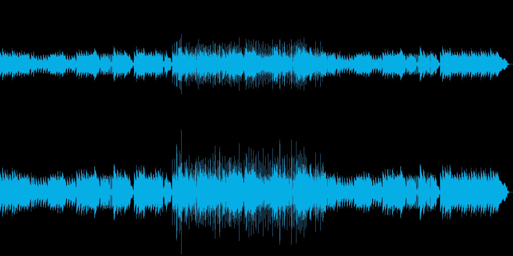 地下道をイメージしたBGMの再生済みの波形