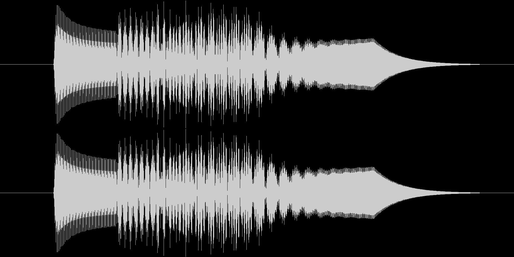 ピロリン!(ゲーム、アプリ、決定)の未再生の波形