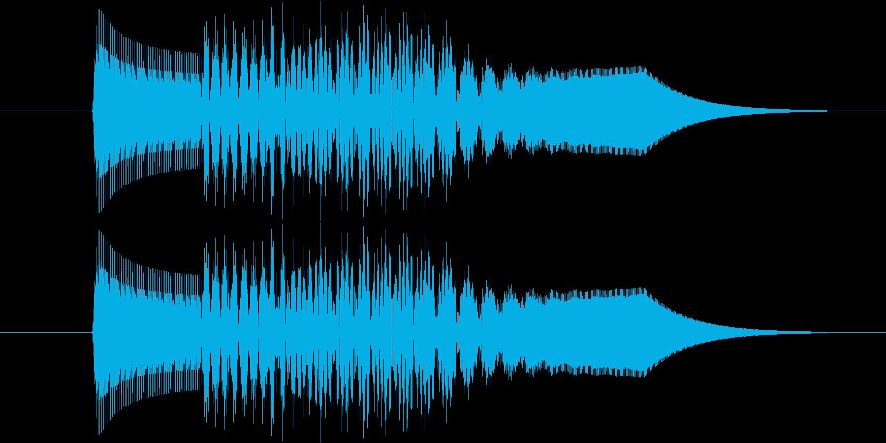 ピロリン!(ゲーム、アプリ、決定)の再生済みの波形