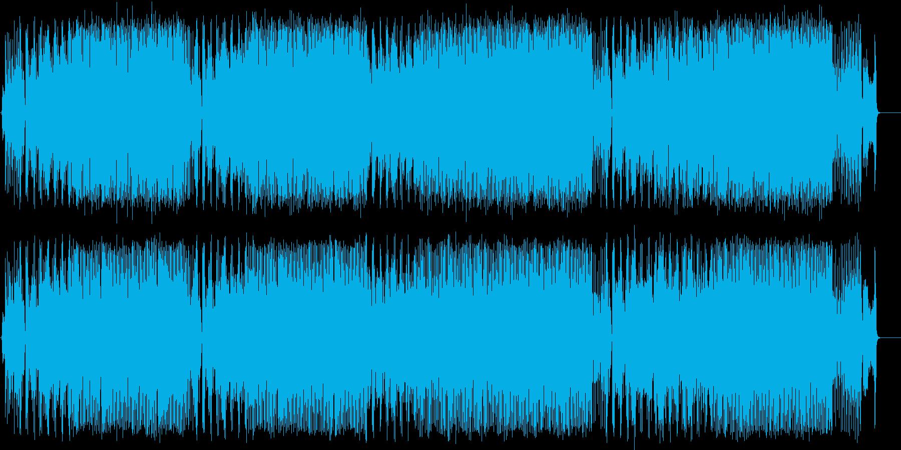 にぎやか 元気 コミカル 楽しいの再生済みの波形
