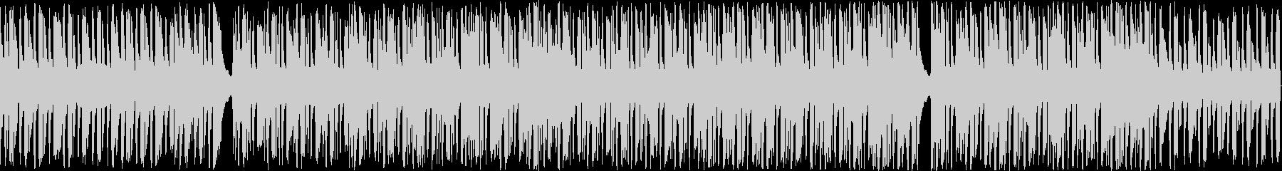 ハロウィン向けワルツ風ループ楽曲の未再生の波形