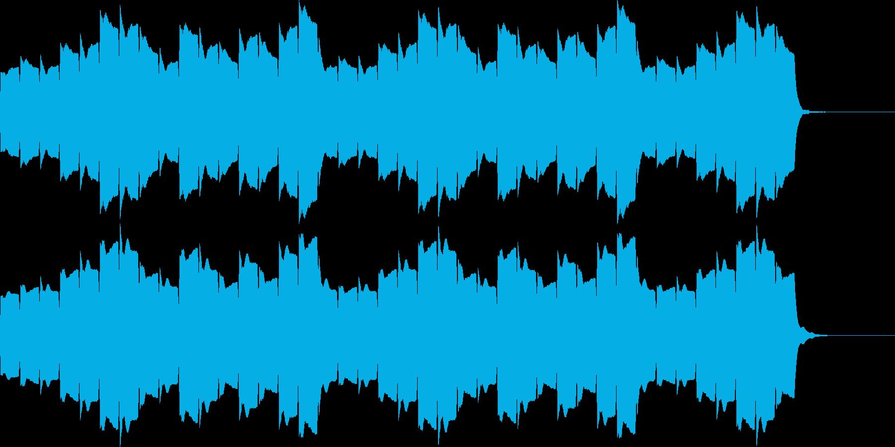 救急車のサイレンB(長)の再生済みの波形
