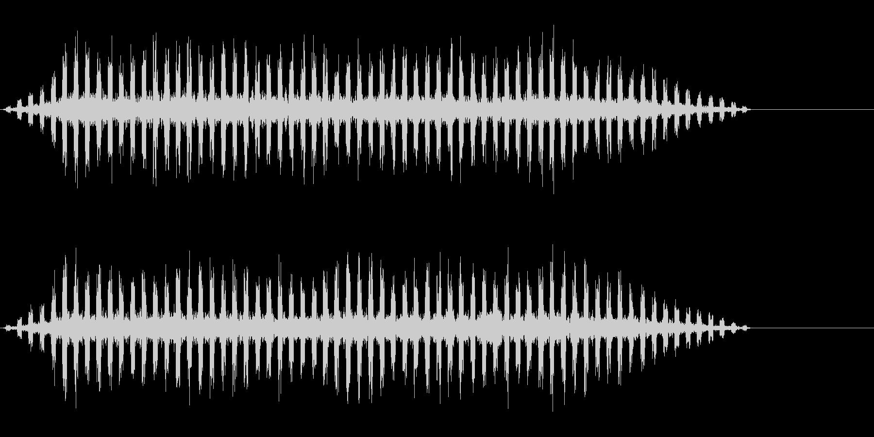 テロップ・サイエンス・ニュースの未再生の波形