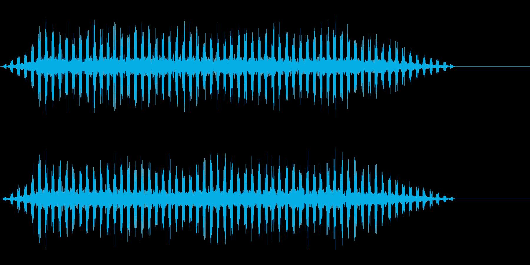 テロップ・サイエンス・ニュースの再生済みの波形