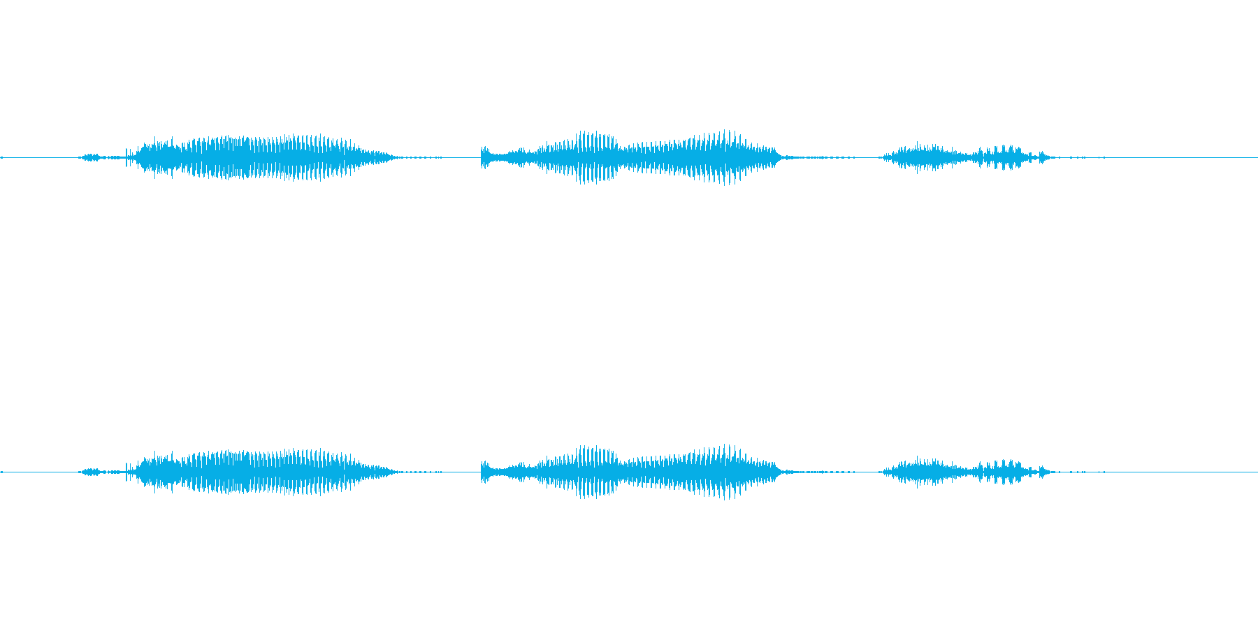 【日】19日の再生済みの波形