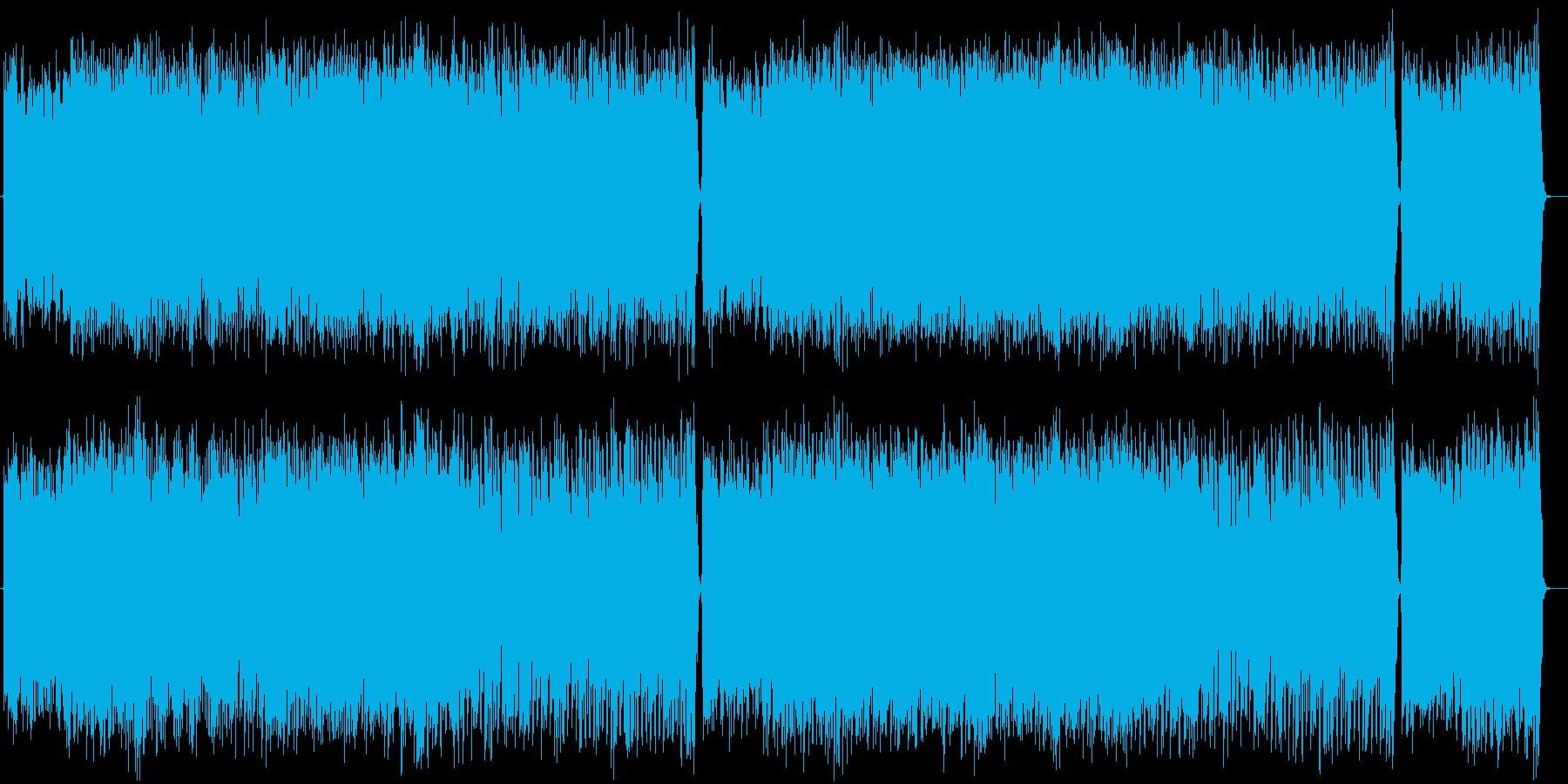 ギターのメロディがカッコいいロックの再生済みの波形
