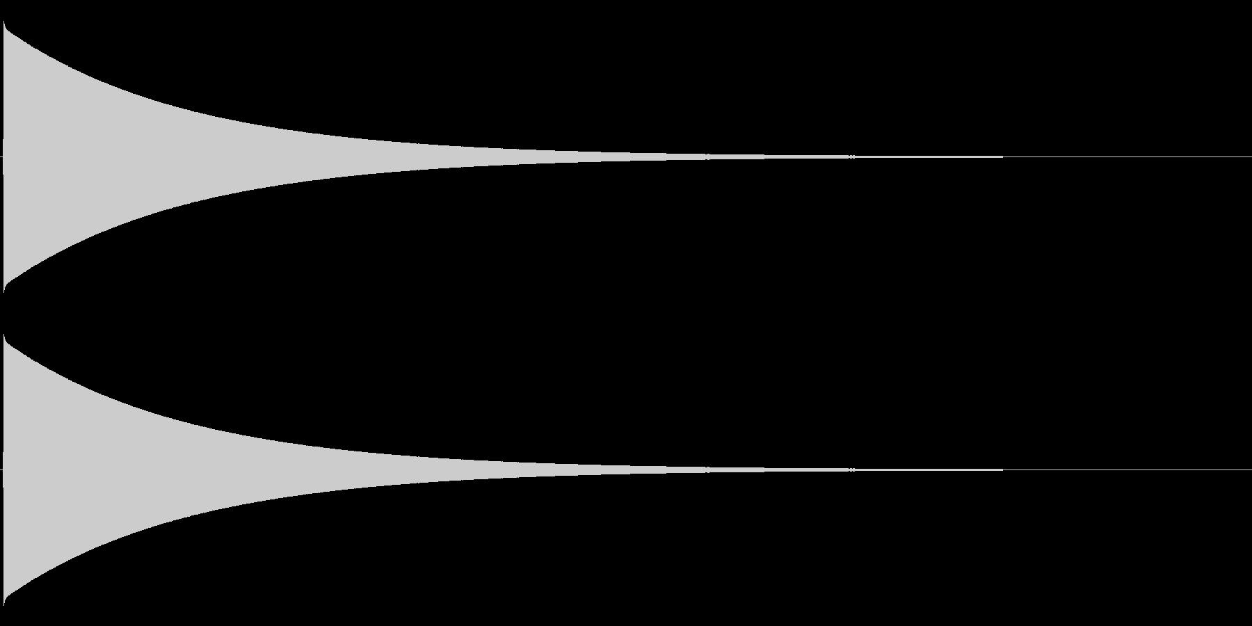 ピューン(落下音、長め)の未再生の波形