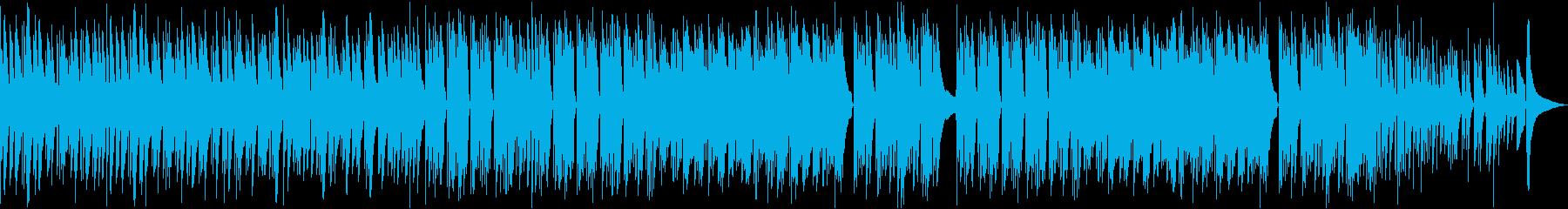 アコギのみ使用 爽やかな映像用BGMの再生済みの波形
