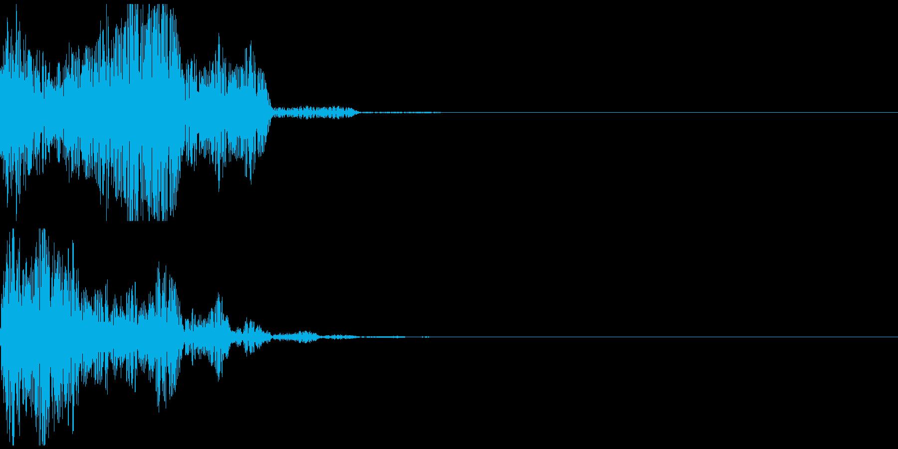 ポヨヨヨン オチ ボケ 不正解 飛ぶの再生済みの波形