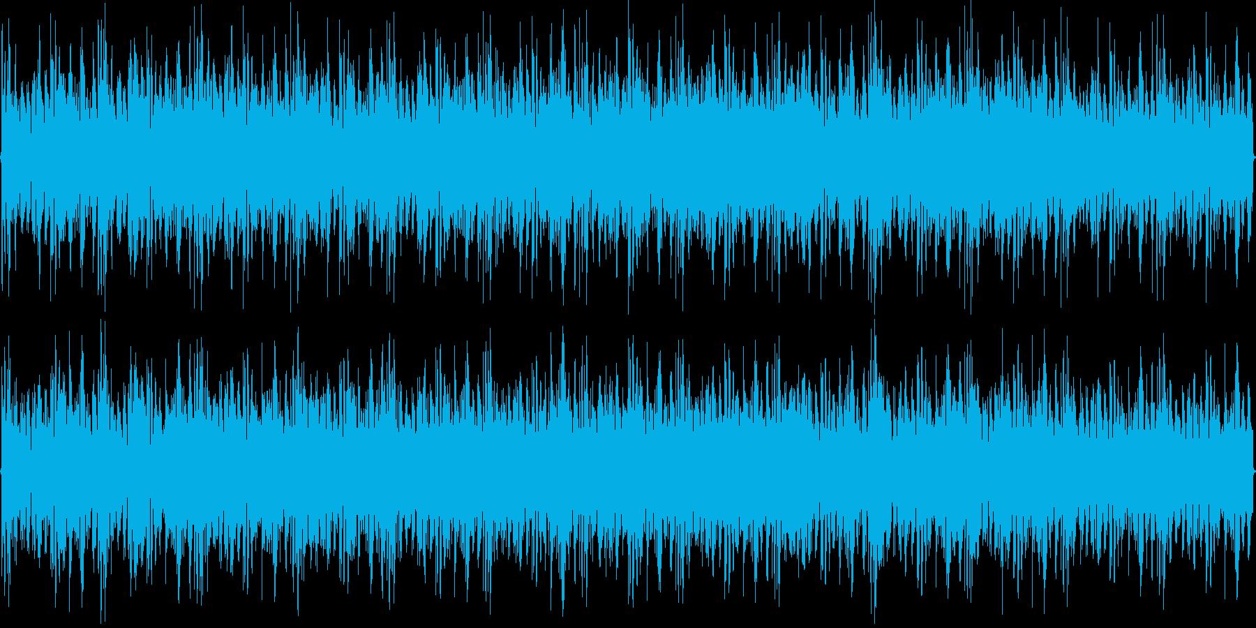 ファンキーなトランスの再生済みの波形