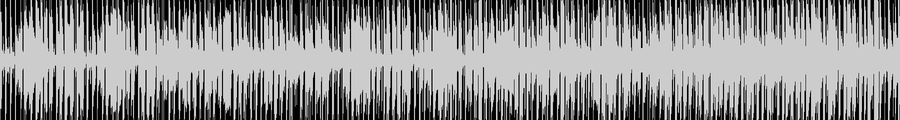 ぴこぴこしたエレピが特徴的 軽快なBGMの未再生の波形