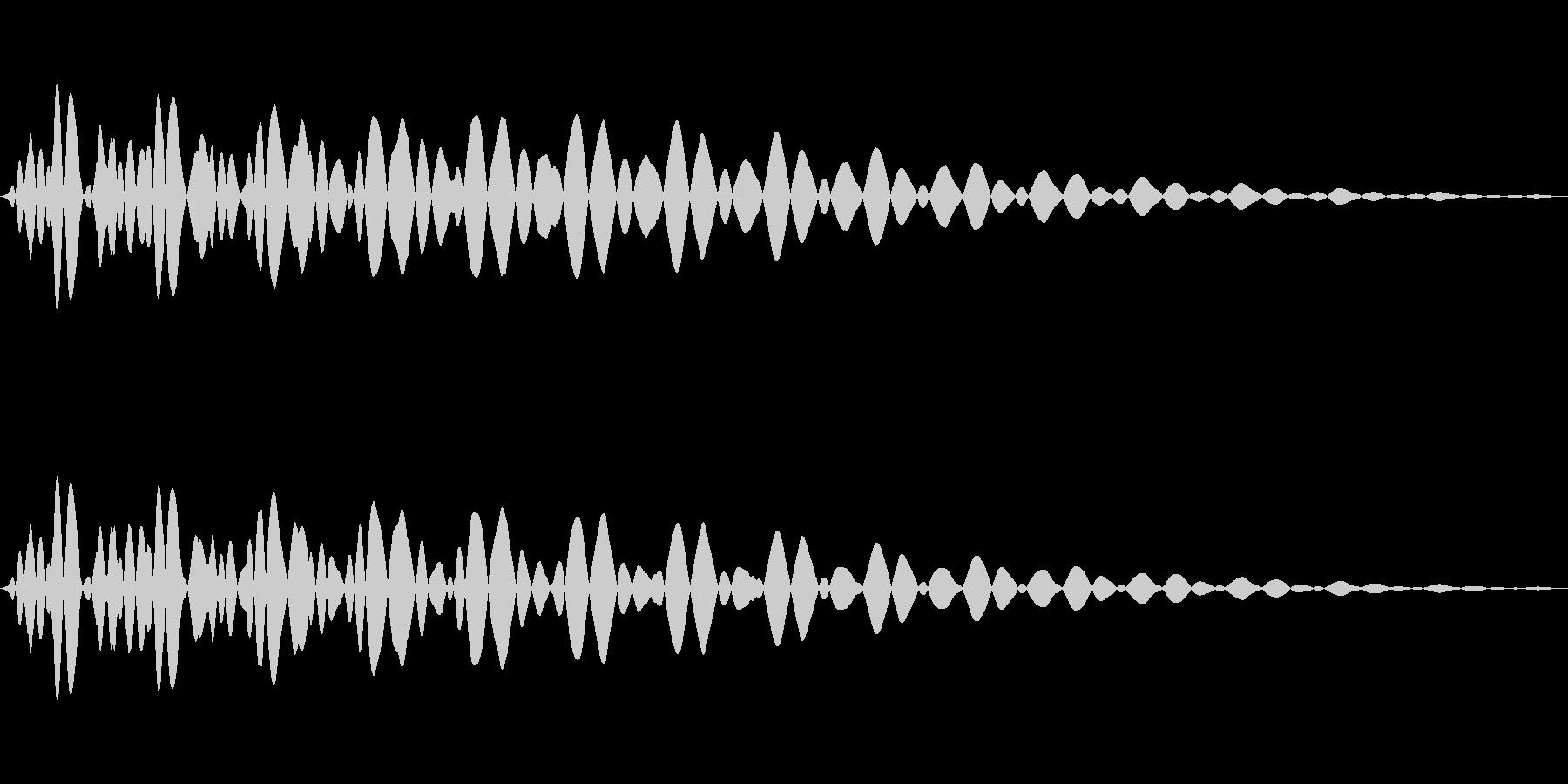 PureTouch アプリ用タッチ音61の未再生の波形