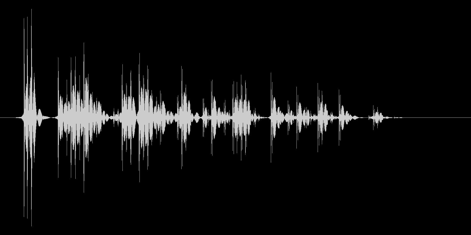 ゲーム(ファミコン風)爆発音_019の未再生の波形