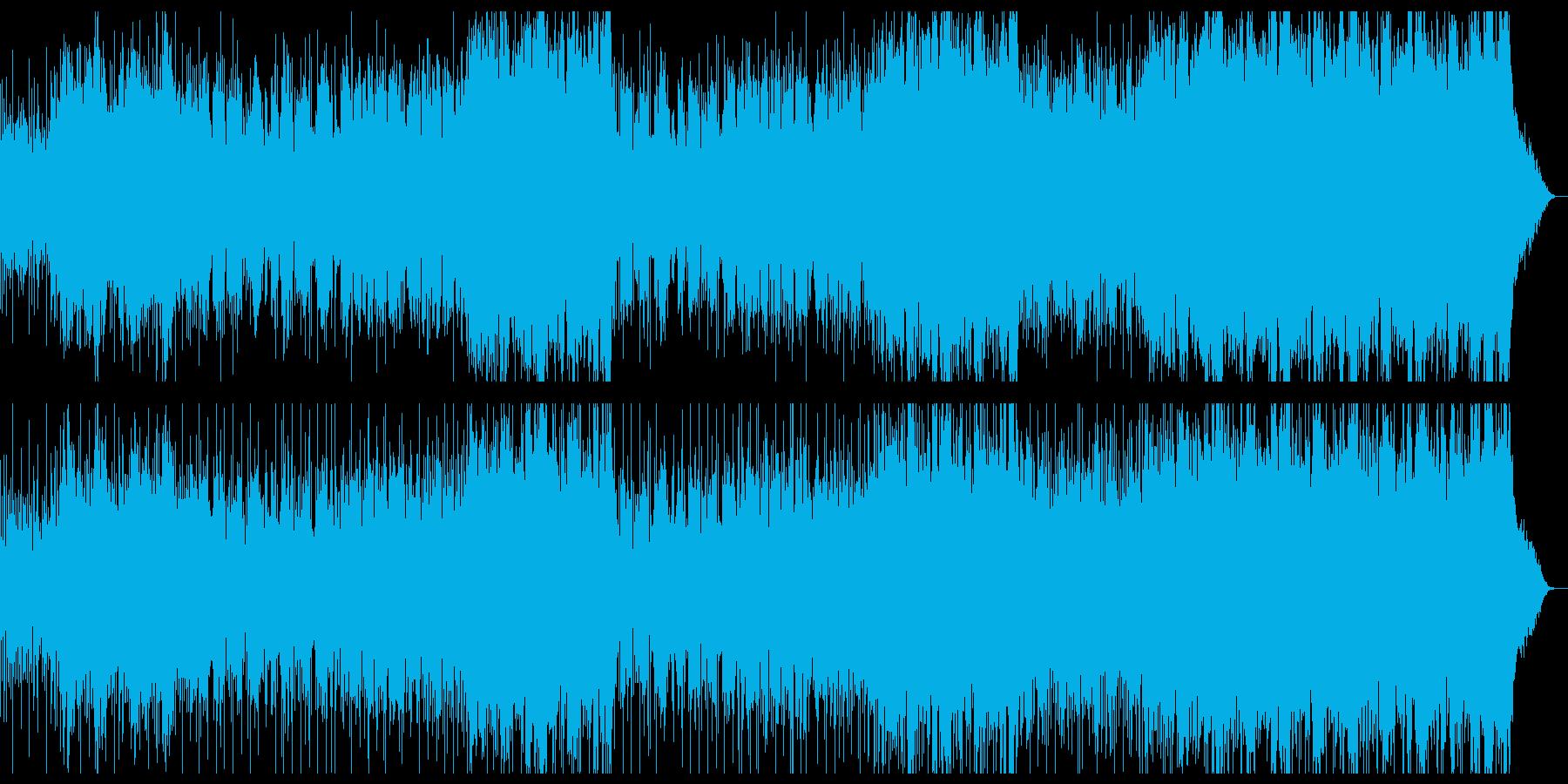 トランペットが爽やかなソフトロックの再生済みの波形