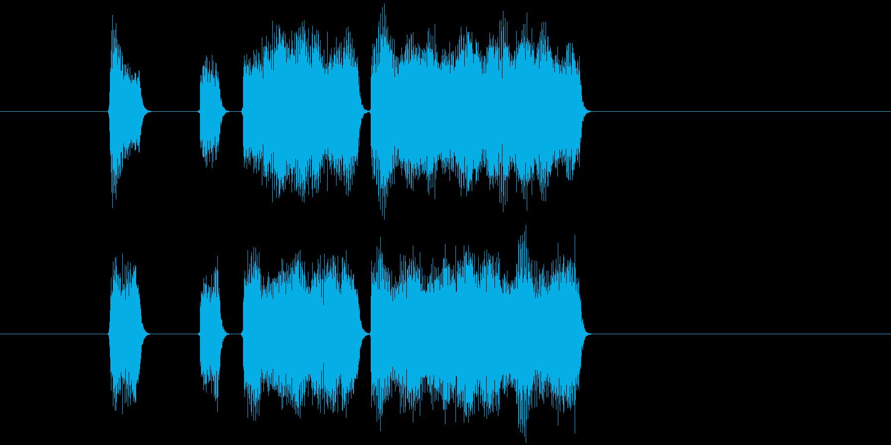 ゲーム、クイズ(正解)_013の再生済みの波形