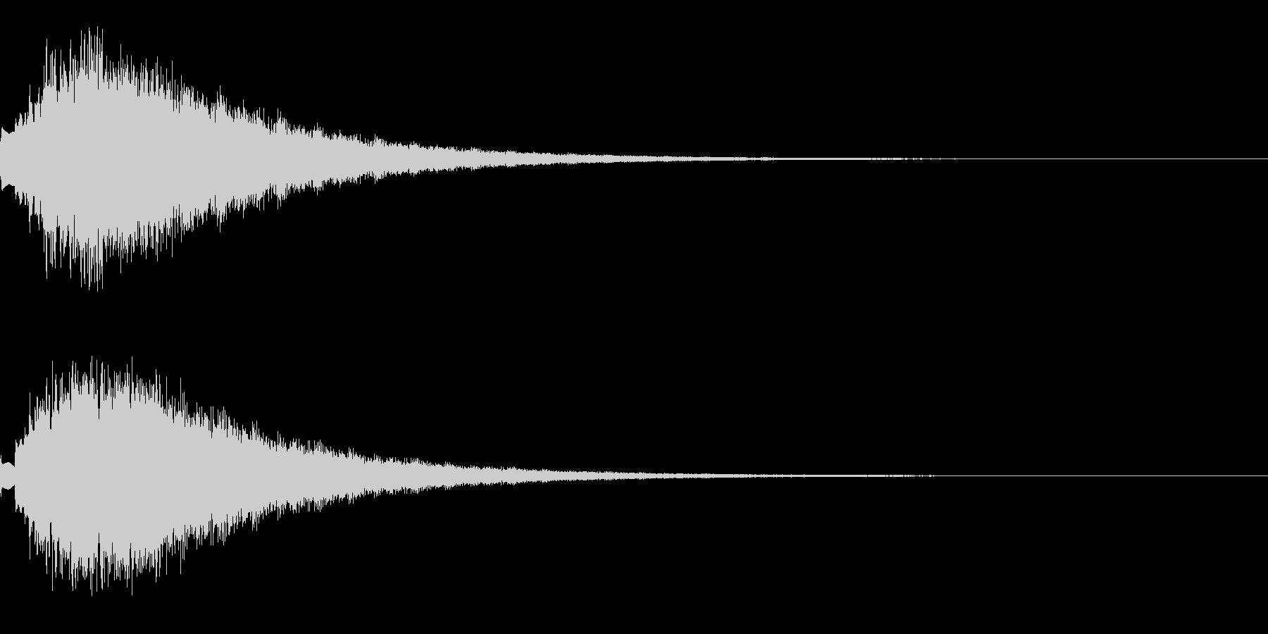 キラキラ シャララーン アイキャッチ05の未再生の波形