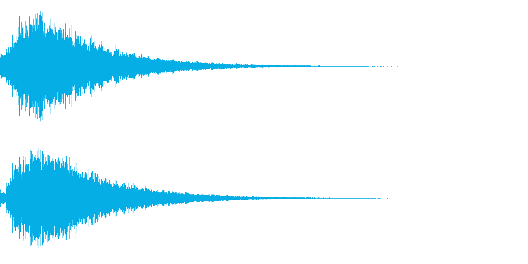 キラキラ シャララーン アイキャッチ05の再生済みの波形